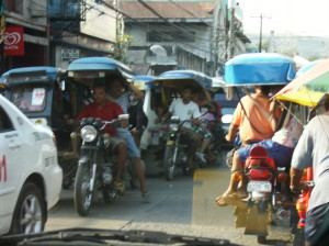 Filipinos on Trikes